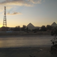 Running around the World: the Pyramids Half Marathon
